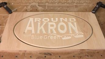 Around Akron with Blue Green: April 2017
