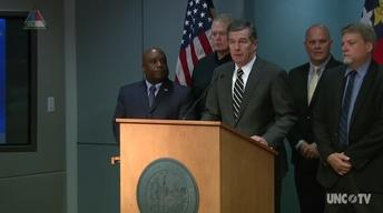 NC Governor Roy Cooper's Weather Briefing - 09/09/17