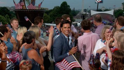A Capitol Fourth -- John Stamos Is Back to Host!