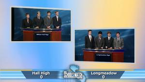 Quarterfinal #3: Hall High vs. Longmeadow High