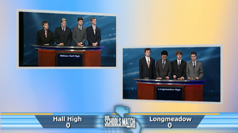 Quarterfinal #3: Hall High vs. Longmeadow High