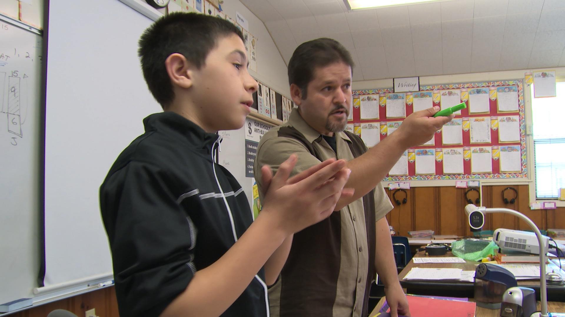 Jose and Mr. Ramos