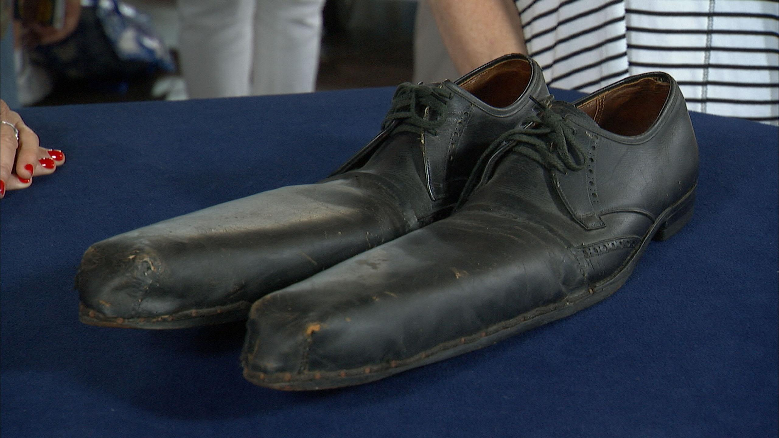 Appraisal: Clown Shoes, ca. 1940