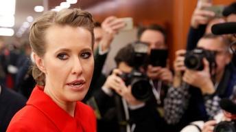 A Russian reality TV star's longshot bid to challenge Putin