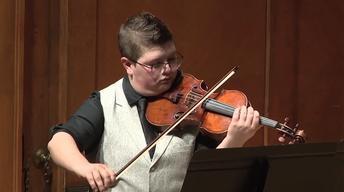 Violinist Abigail Fayette Graduation Recital