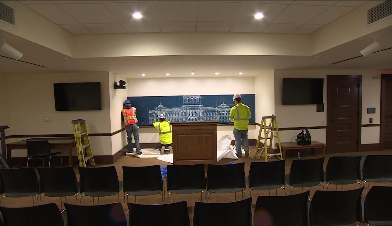 Tour Tidbits: Press Conference Room