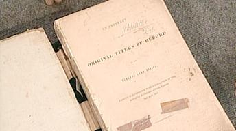 S21 Ep21: Appraisal: 1838 Texas Land Office Book