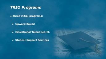 TRIO Programs with Regina Hailey Smith
