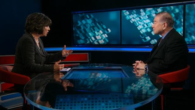 Amanpour: Moon Chung-in and David Hockney