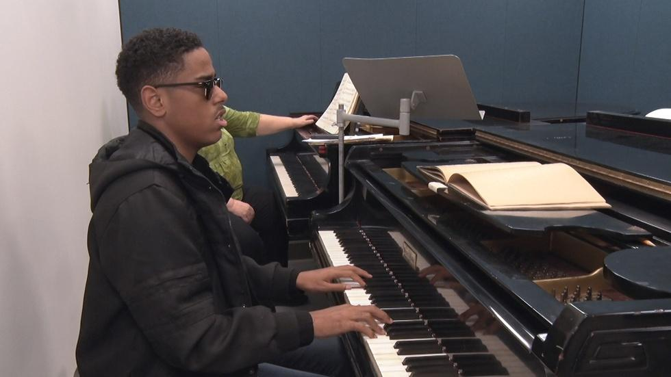 MUSIC SCHOOL FOR THE BLIND image