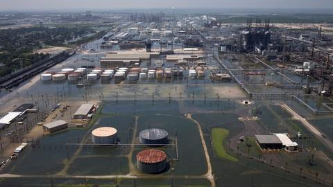 PBS NewsHour -- Gas prices surge after Harvey strikes refineries