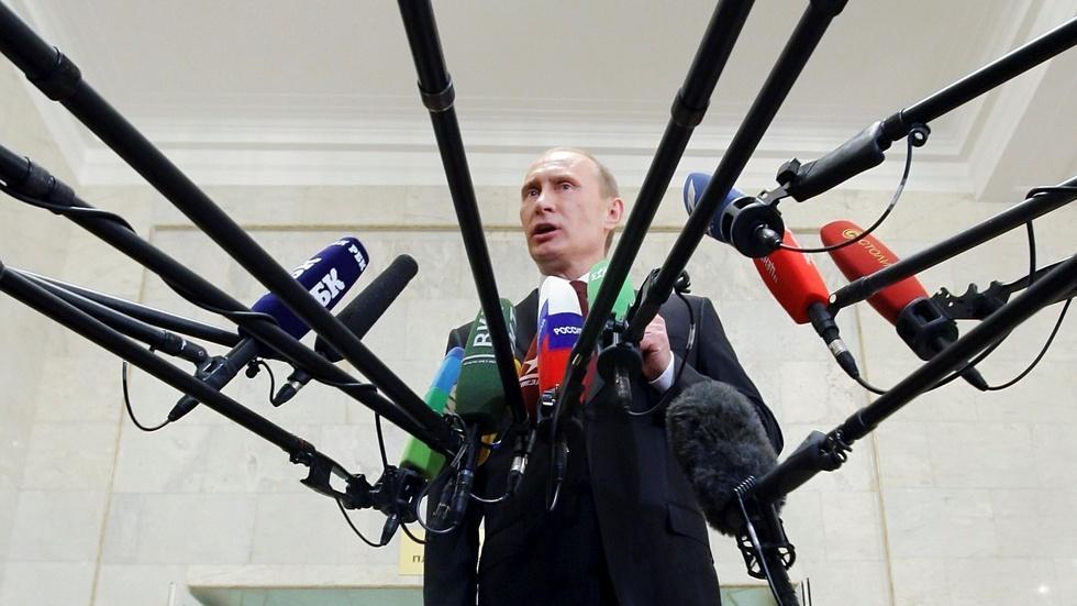 Inside Russia's propaganda machine image