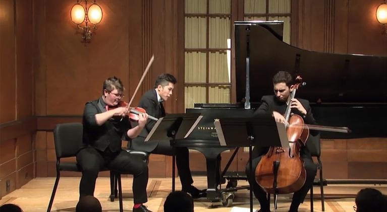 On Stage at Curtis: Student Recital: DiBerardino, Goldstein, Tchaikovsky