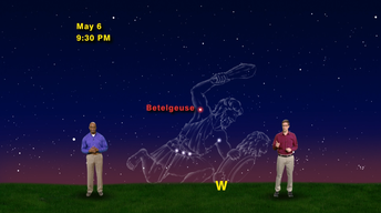 """Last Chance for Betelgeuse"" May 1-7th 1 Min"