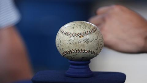 Antiques Roadshow -- Appraisal: 1923 New York Yankees-signed Baseball