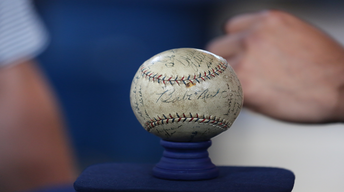 S22 Ep8: Appraisal: 1923 New York Yankees-signed Baseball