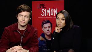 """Nick Robinson and Alexandra Shipp for """"Love, Simon"""""""