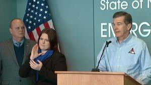NC Governor Roy Cooper's Weather Briefing - 01/18/18