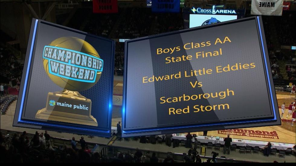 Edward Little vs. Scarborough Boys Class AA 2018 State Final image