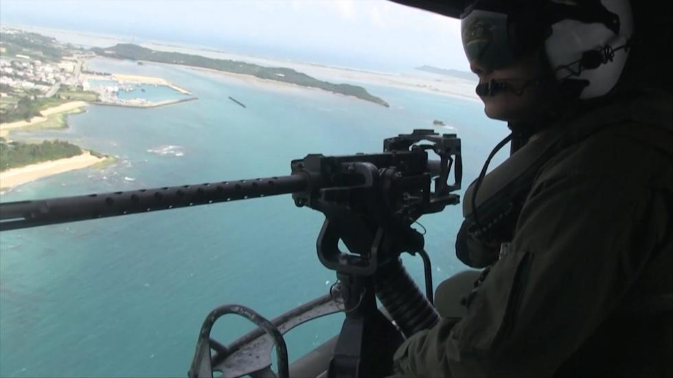 On Okinawa, locals want U.S. troops to leave image