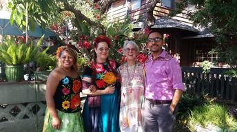 S9: Veralee Bassler & her students celebrate Oaxacan culture