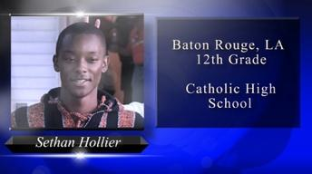 2018 Louisiana Young Heroes - Sethan Hollier