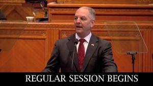 Regular Session Opens - Governor John Bel Edwards - 03/12/18
