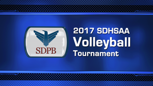 2017 Class B High School Volleyball Semifinal Night 1