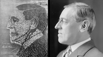 Web Exclusive: World War I Woodrow Wilson Living Photograph
