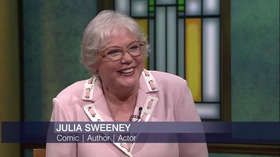 Julia Sweeney Makes Second City Debut with 'Older and Wider' image
