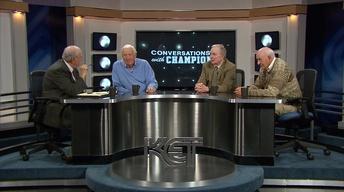 "John Brewer, Gerry Calvert, and Earl ""Brother"" Adkins"