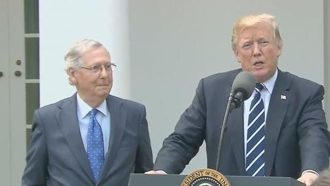Washington Week -- The relationship between Trump and McConnell