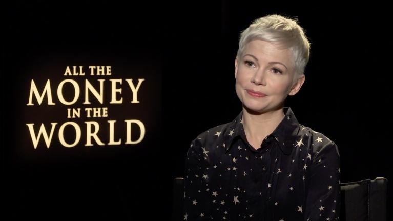 """Flicks: Michelle Williams for """"All the Money in the World"""""""