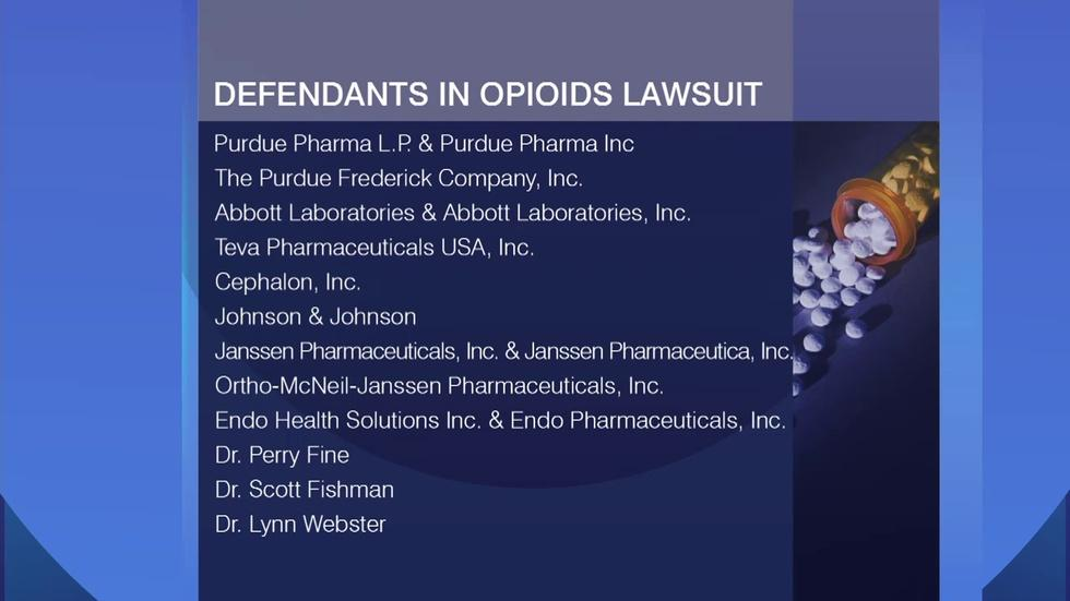 5 Suburban Counties Suing Pharmaceutical Companies image