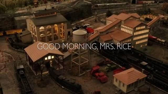 Good Morning, Mrs. Rice:TTC Film Festival Student Entry
