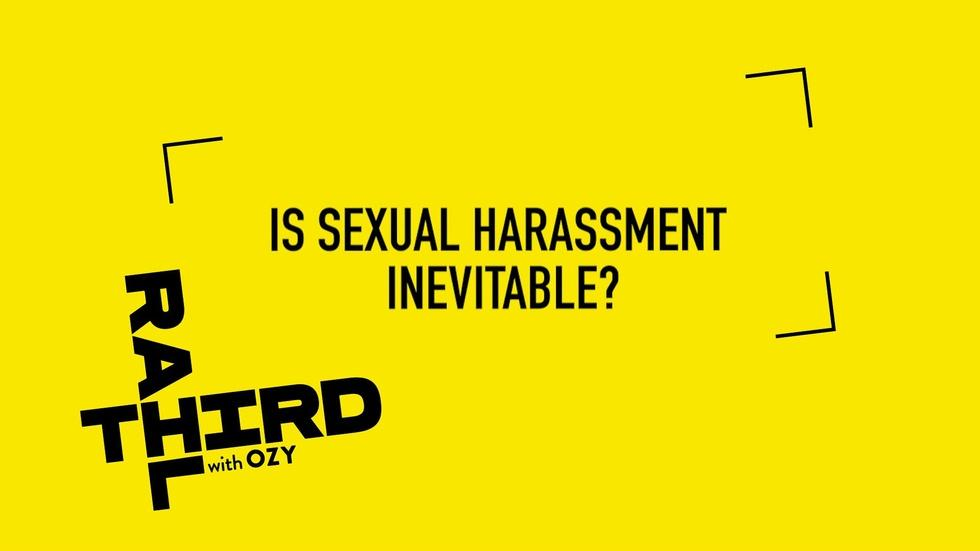 We Asked, You Answered: Is Sexual Harassment Inevitable? image