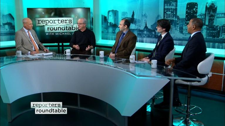 Reporters Roundtable: Menendez's challenger and Murphy's week