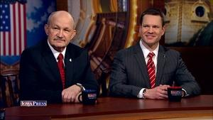 Sen. Charles Schneider and Sen. Bill Dotzler