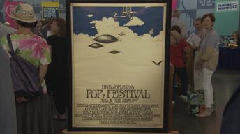 S22 Ep6: Appraisal: 1969 New Orleans Pop Festival Poster