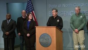 NC Governor Roy Cooper's Weather Briefing - 01/17/18  5PM