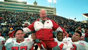 Coach Ron McBride