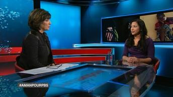 Christiane Amanpour visits refugee camp in Jordan