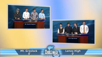 Quarterfinal #1: Mt. Greylock vs. Lenox Memorial (May 13, 20