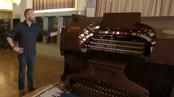 Famed Alhambra Pipe Organ