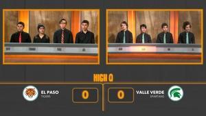 El Paso vs. Valle Verde