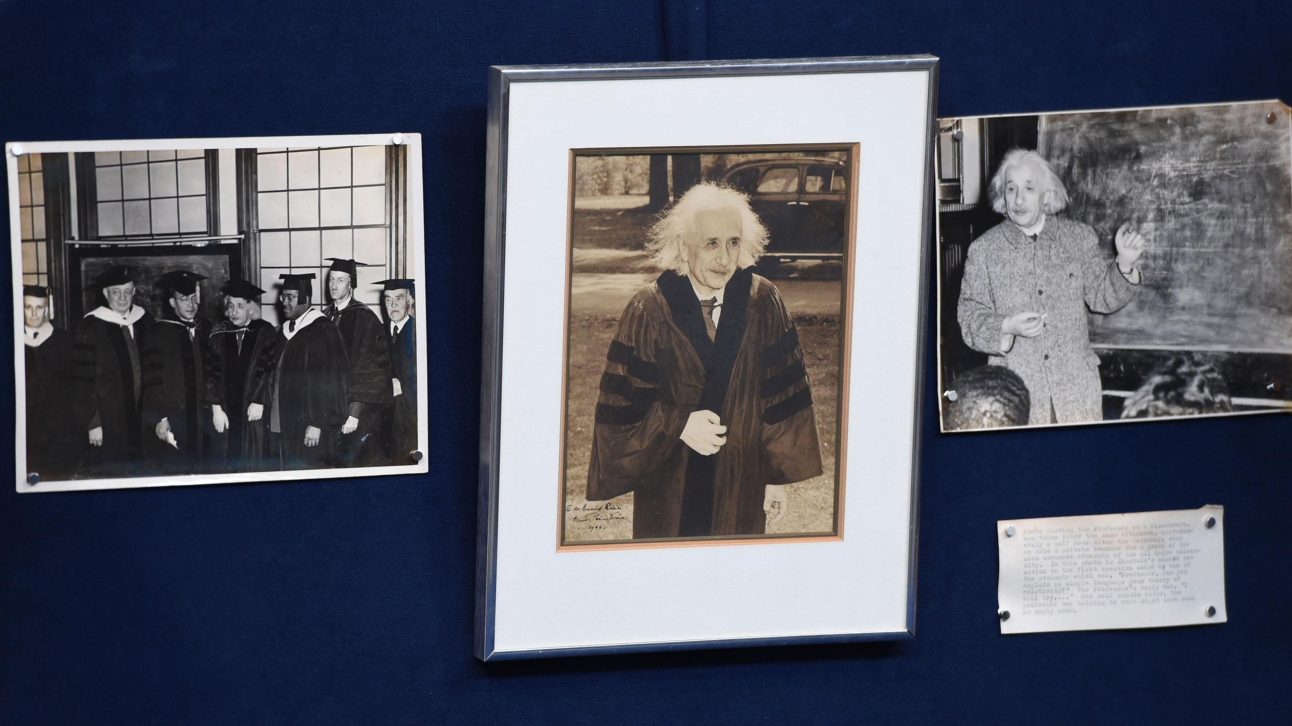 Appraisal: 1946 Einstein-signed Photo & Prints