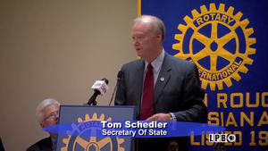 Tom Schedler, La. Secretary of State