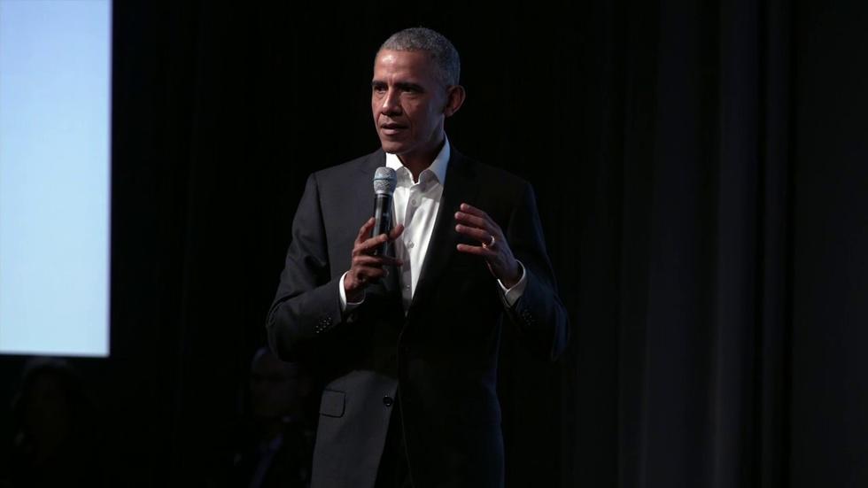 Former President Obama Kicks Off 'Big Brainstorming Session' image