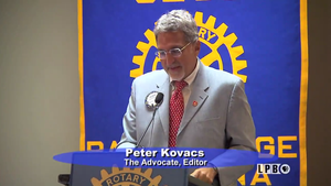 Peter Kovacs, The Advocate Editor