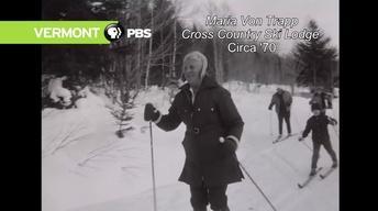 Maria Von Trapp cross Country Ski Lodge, circa 1970